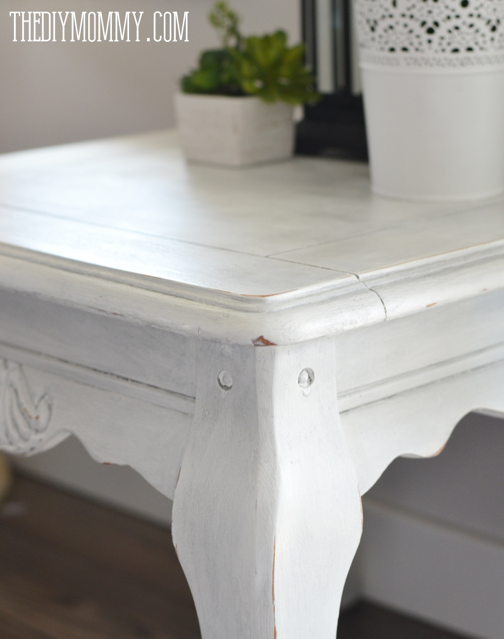 Make Diy Dark Or Coloured Wax My Upcycled Side Table