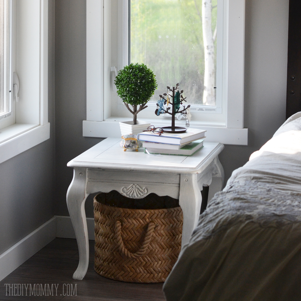 Our Diy House 2014 Home Tour: A Grey And Cream Master Bedroom Design With DIY Pillow