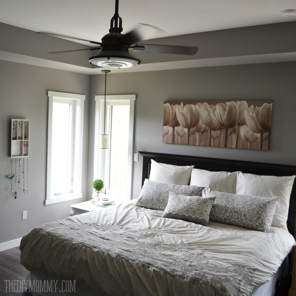 Interior Master Bed a grey and cream master bedroom design with diy pillow covers serene white pillows