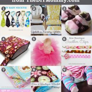 9 Favourite DIY Baby Tutorials (From 2009-2014)