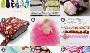 The 9 Favourite DIY Baby Tutorials on The DIY Mommy from 2009-2014