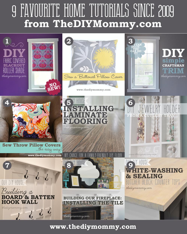 9 Favourite DIY Home Decor Tutorials