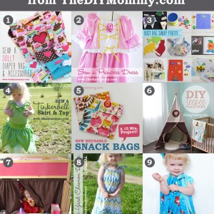 9 Favourite DIY Kid's Tutorials (From 2009-2014)