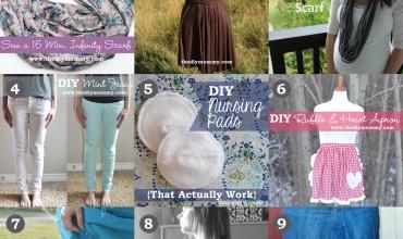 9 Favourite DIY Tutorials for Moms