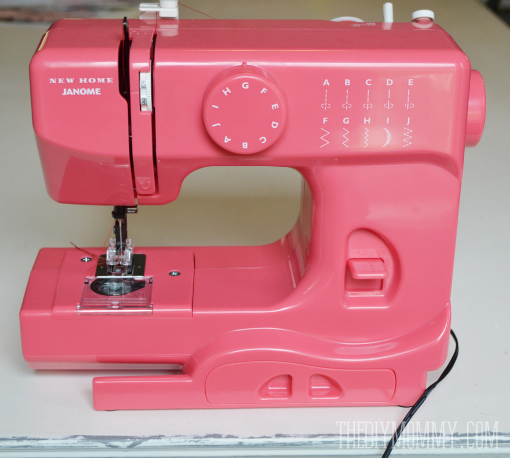 Janome New Home Pink Lightning Portable Sewing Machine