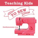 Great tips on how to teach kids to sew!
