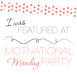 Motivational Monday DIY Craft Home Link Party