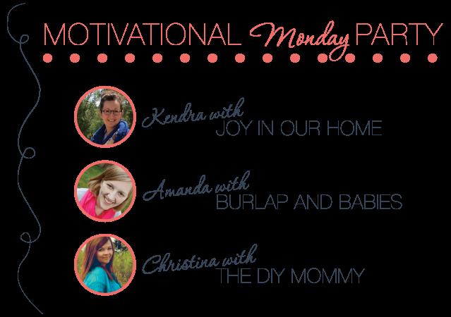 Motivational Monday DIY Craft Home Link Party
