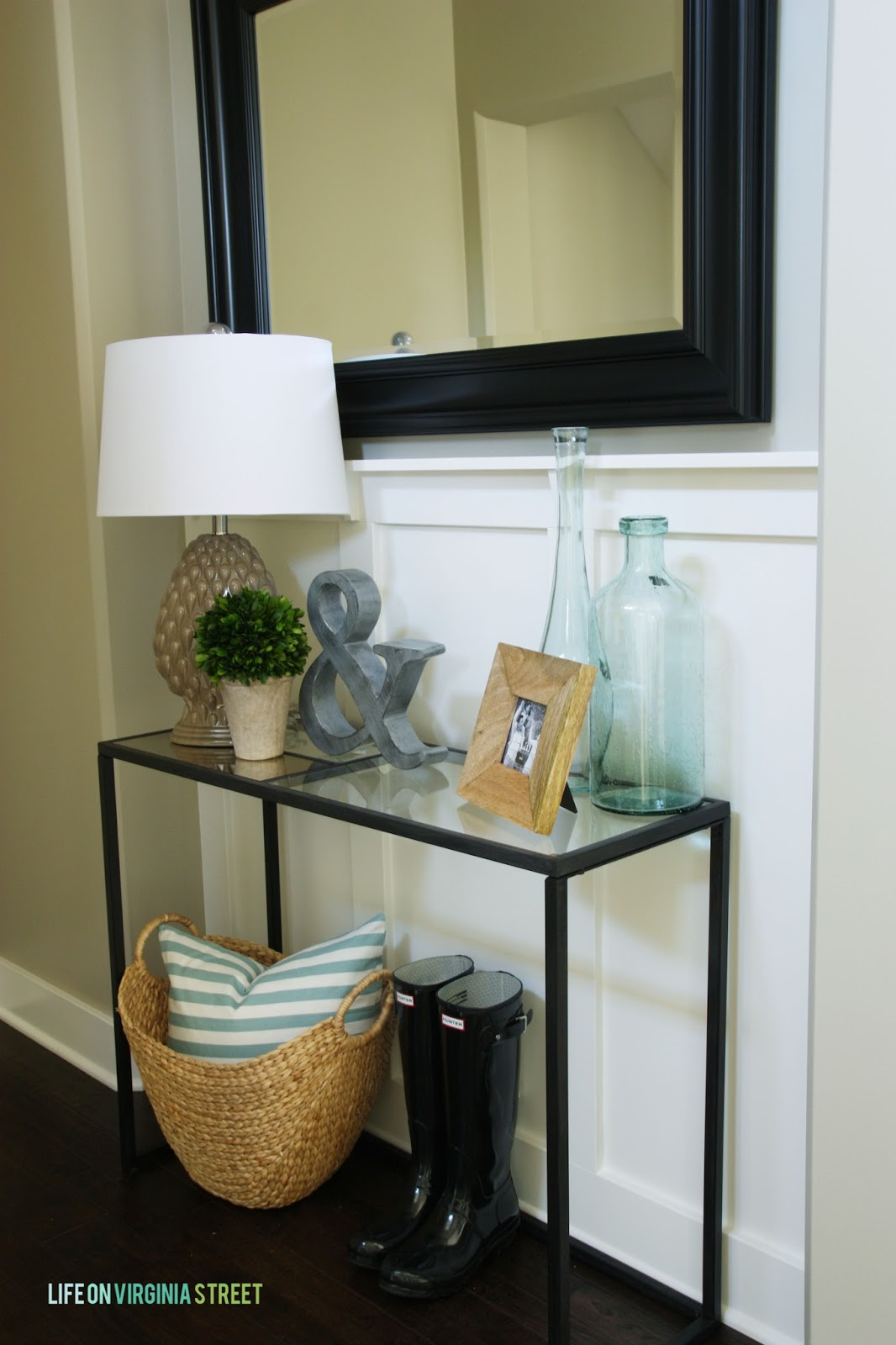 Foyer Console : Motivational monday craft diy home decor link party
