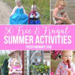 50 Free & Frugal Summer Activities for Kids