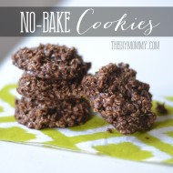 No-Bake Chocolate Oatmeal Cookies – My Family's Recipe
