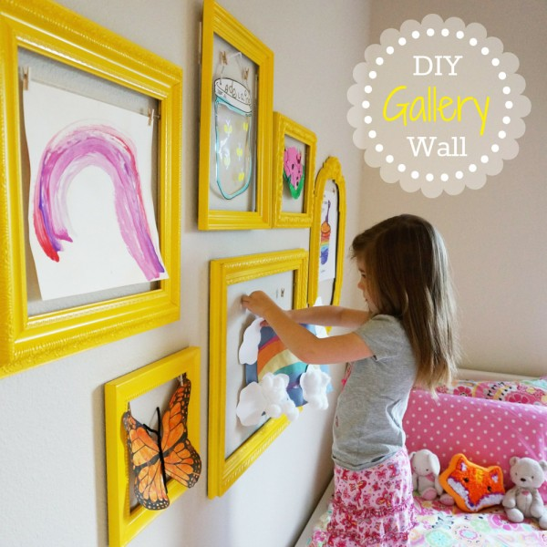 Diy Wall Art For Toddlers : Motivational monday craft diy home decor link part