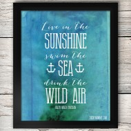 Free Printable Summer Artwork (& Random Summer Musings)