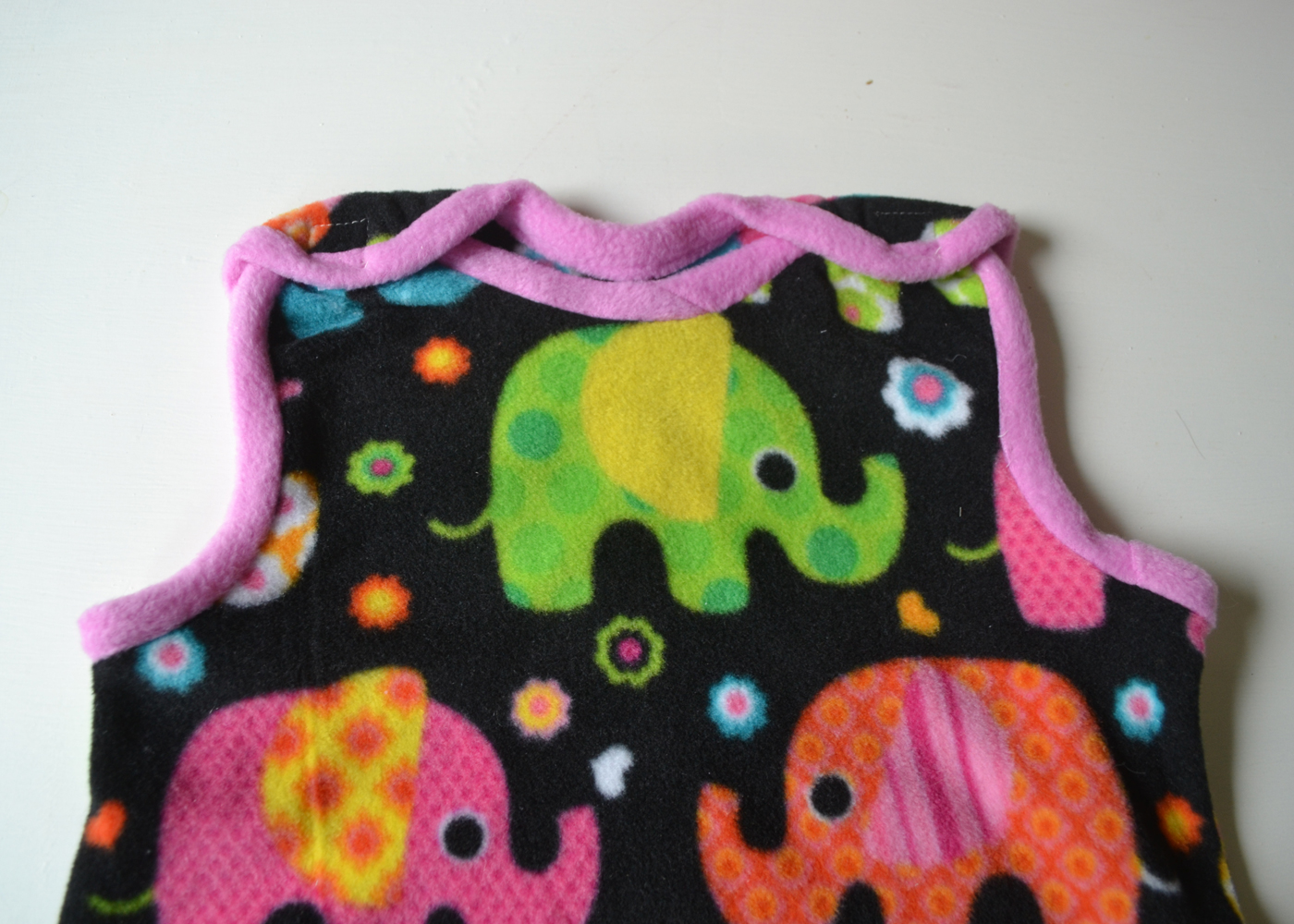 Sew an Easy Baby Sleep Sack | The DIY Mommy