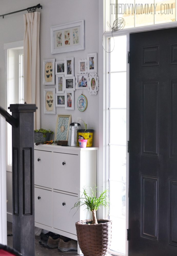 Small Foyer Cabinets : Small entryway cabinet
