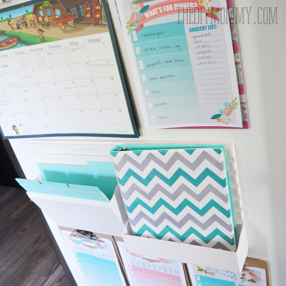 DIY Back To School Kitchen Command Centre From Staples