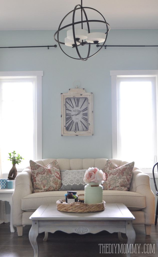 French Country Modern Formal Front Room