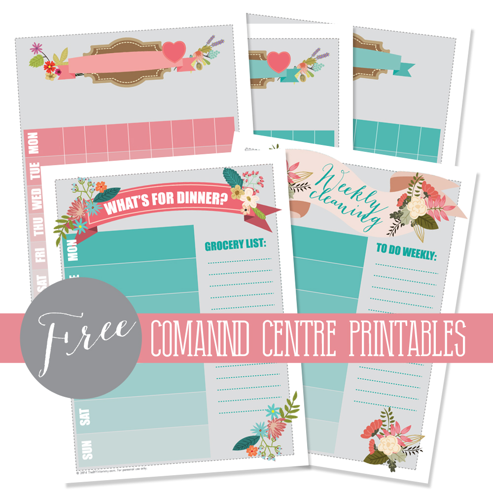 Free-Command-Centre-Printables