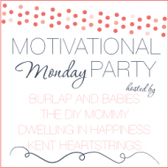 Motivational Monday #13: Craft, DIY & Home Decor Link Party