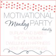 Motivational Monday #13: Craft, DIY & Home Decor Link Party