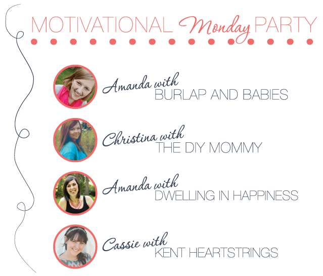 Motivational Monday DIY, Craft & Home Decor Link Party Hosts