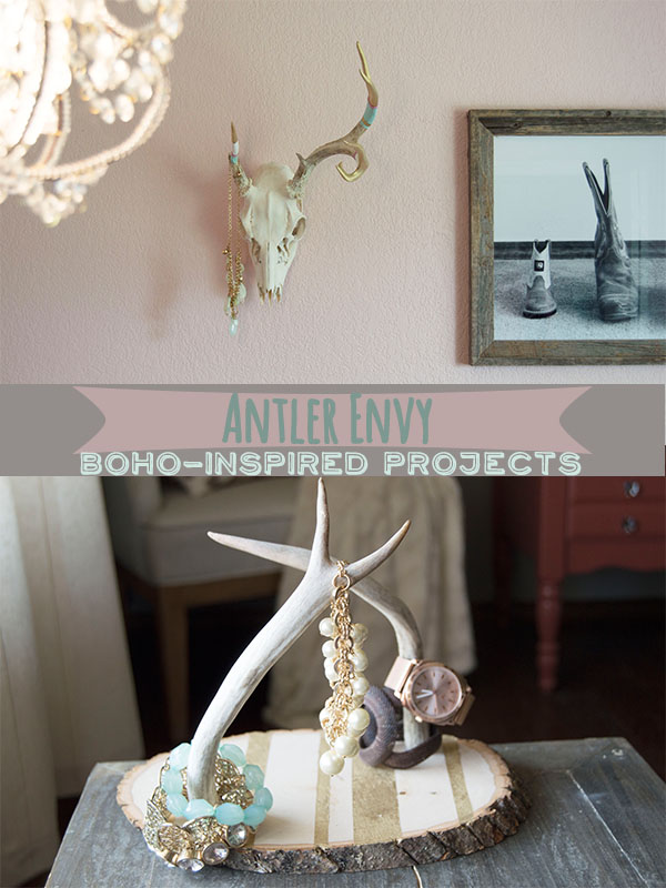 Antler Envy: Boho-Inspired Projects