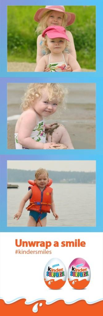 Make your own Kinder Photo Strip