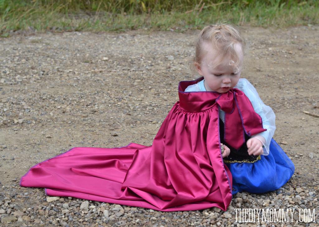 DIY Anna Inspired Snow Princess Dress - Free Pattern & Tutorial