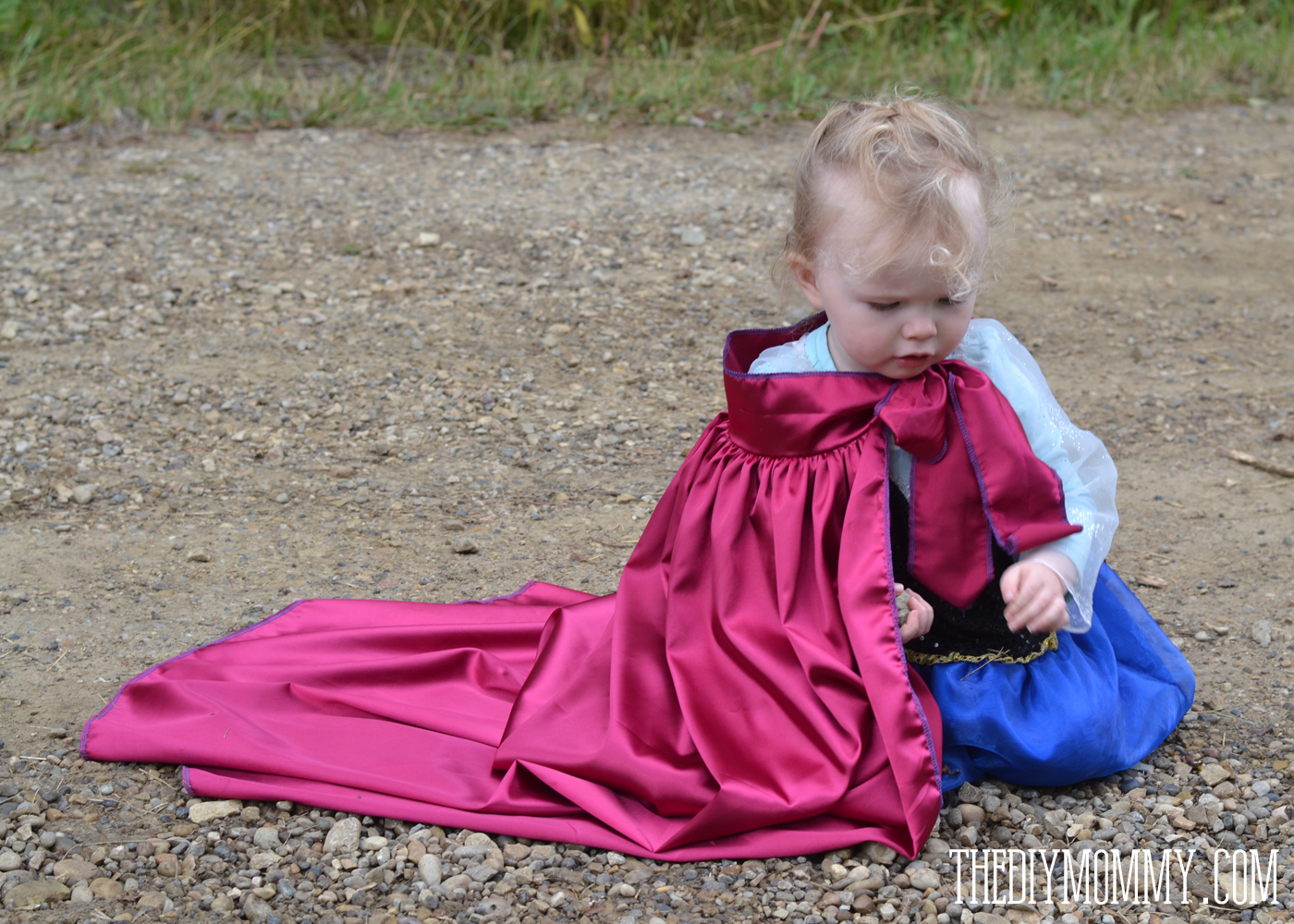 Sew an Anna Inspired Frozen Snow Princess Dress