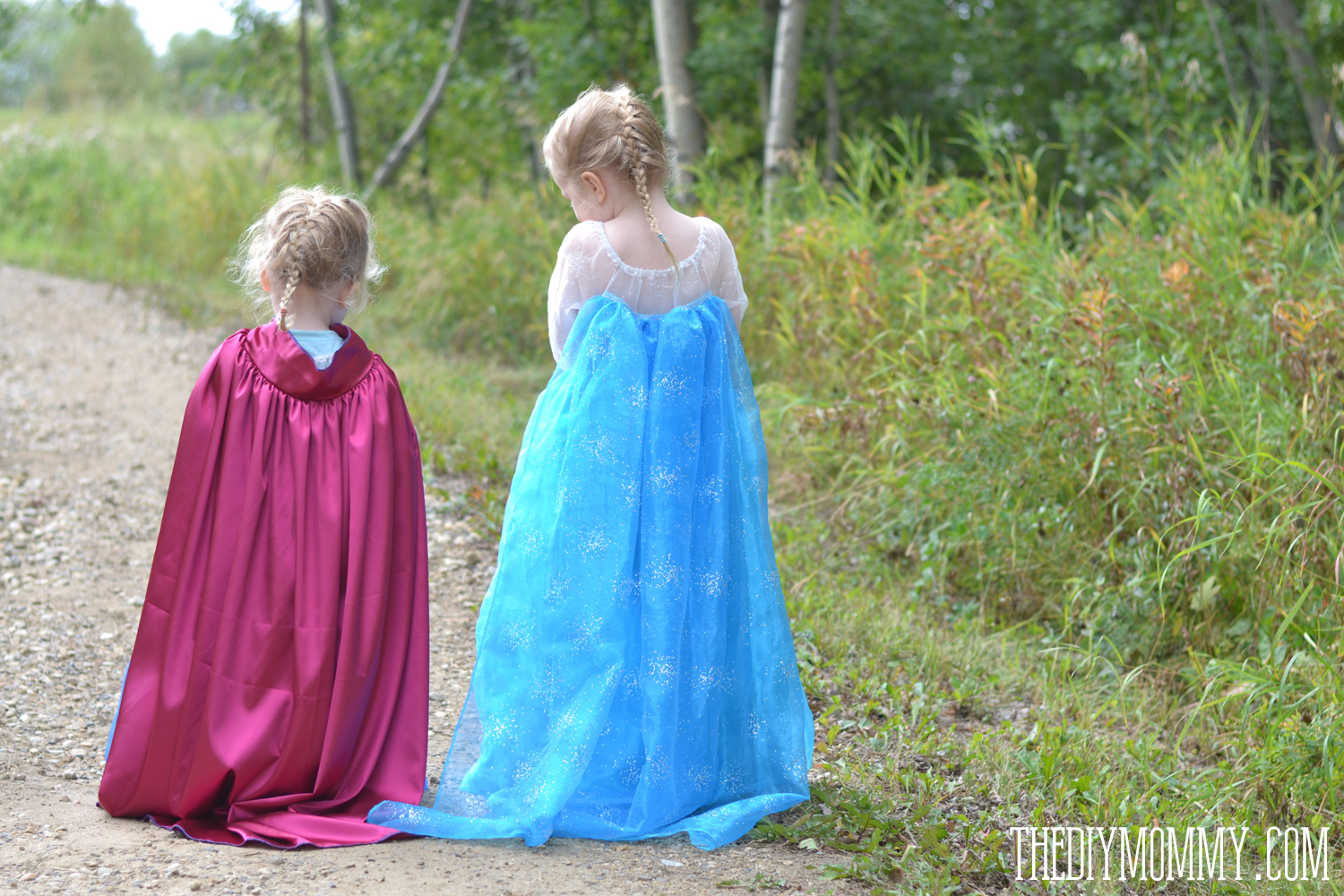 Free Pattern and Tutorial for Frozen Elsa and Anna Dresses : homemade elsa costume  - Germanpascual.Com