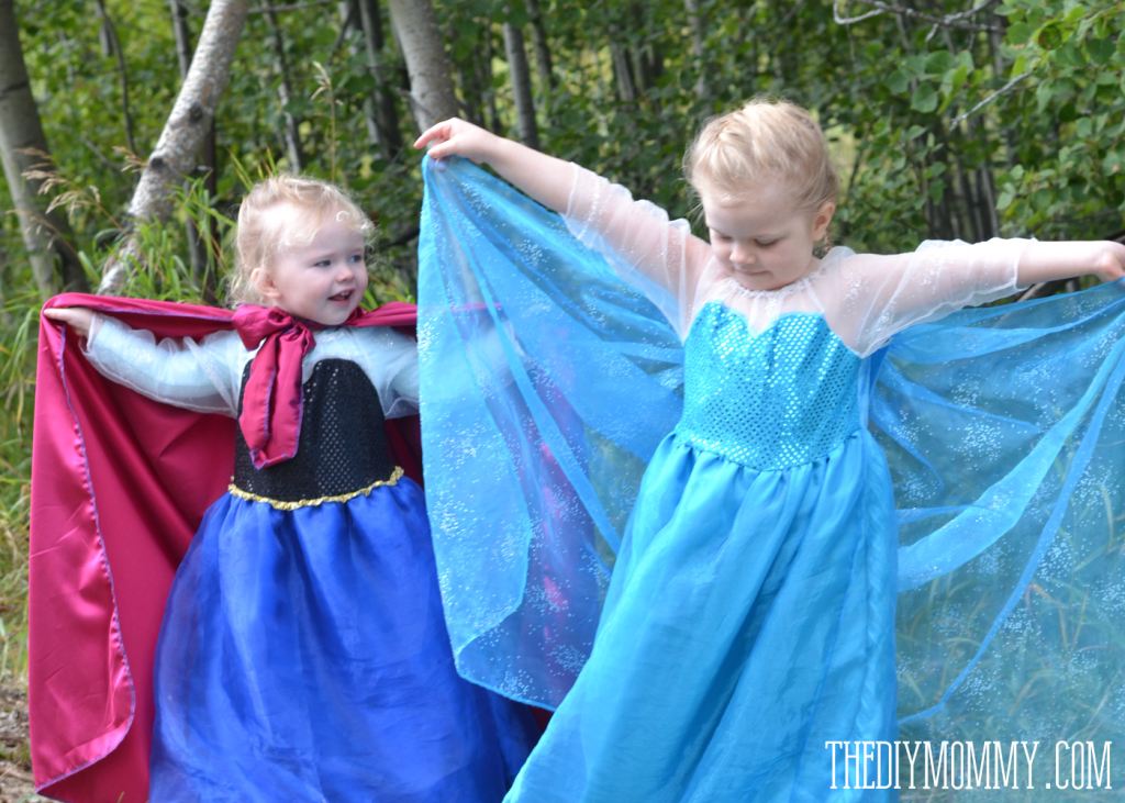 Sew an Anna Inspired Frozen Snow Princess Dress | The DIY Mommy
