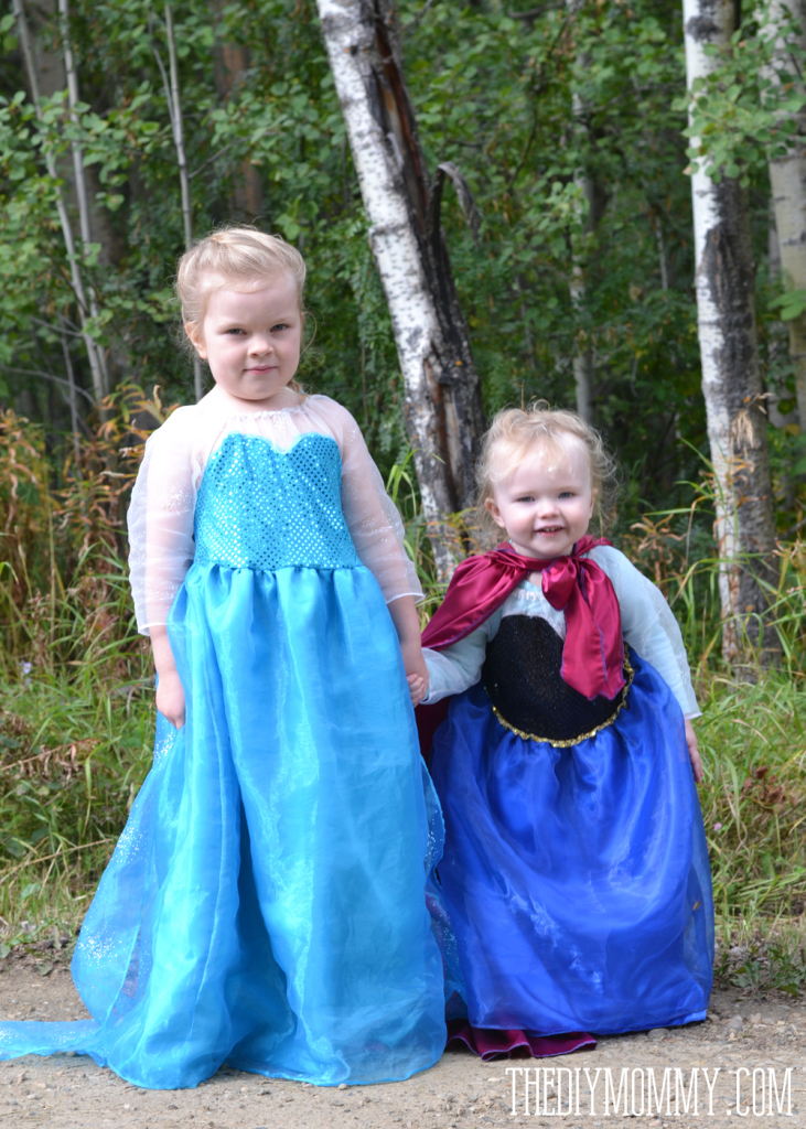 DIY Anna Inspired Snow Princess Dress - Free Pattern u0026 Tutorial  sc 1 st  The DIY Mommy & Sew an Anna Inspired Frozen Snow Princess Dress | The DIY Mommy