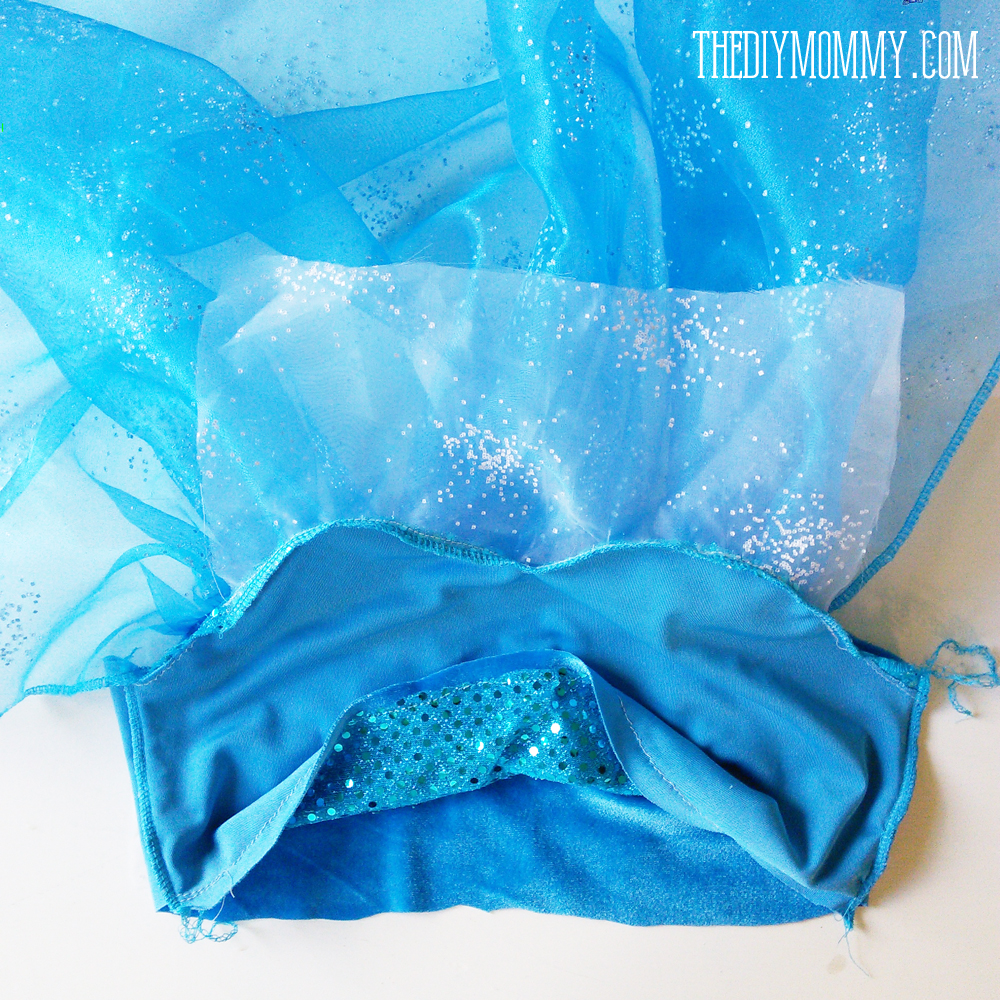 DIY Frozen Elsa Dress Costume Tutorial and Free Pattern