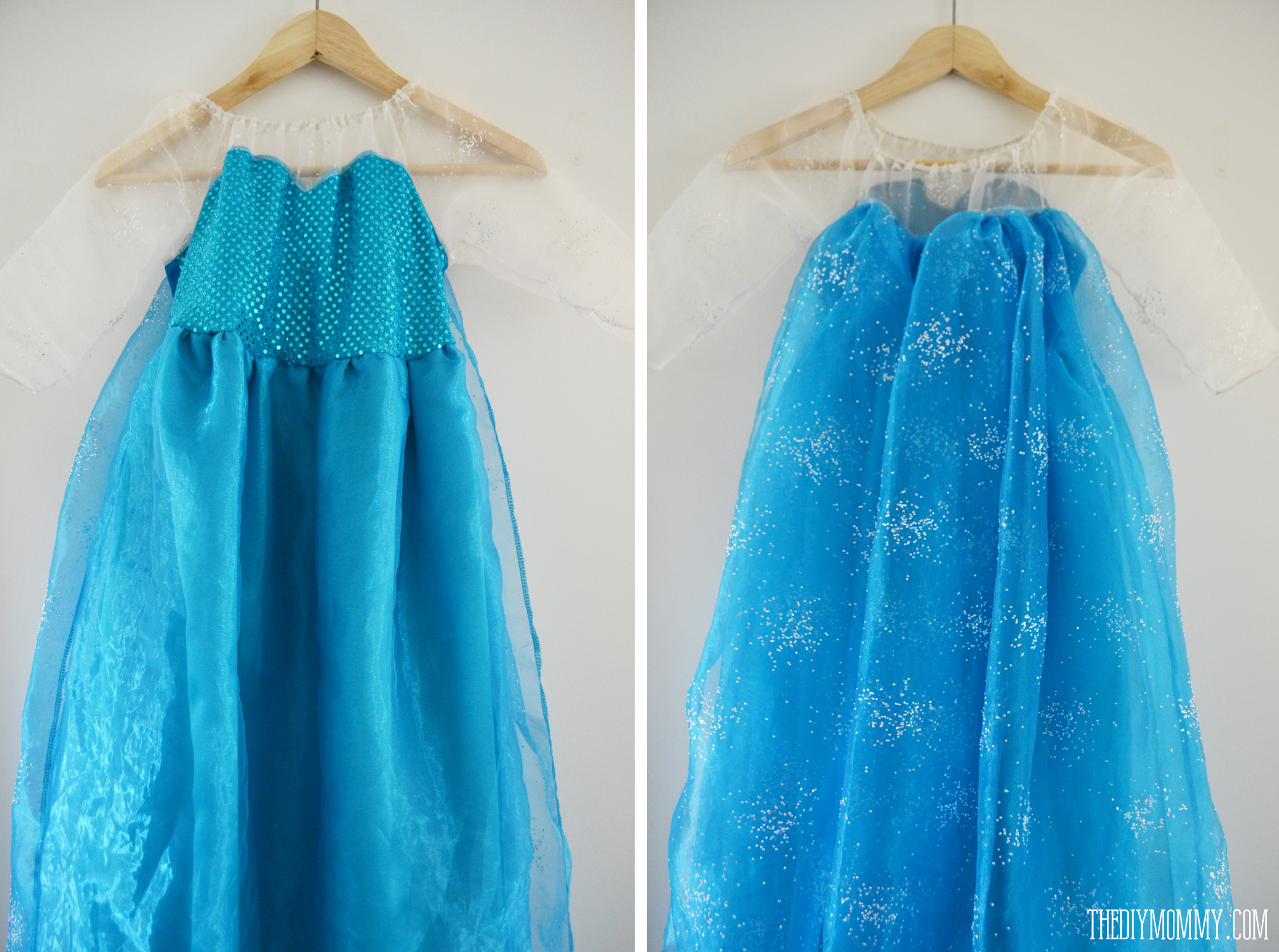 Free Pattern and Tutorial for a Frozen Inspired Elsa Dress Costume ...