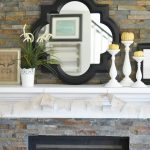Rustic Glam Fall Mantel Decor on a Budget + Free