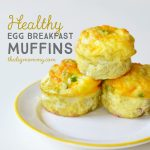 Bake Healthy Egg Breakfast Muffins