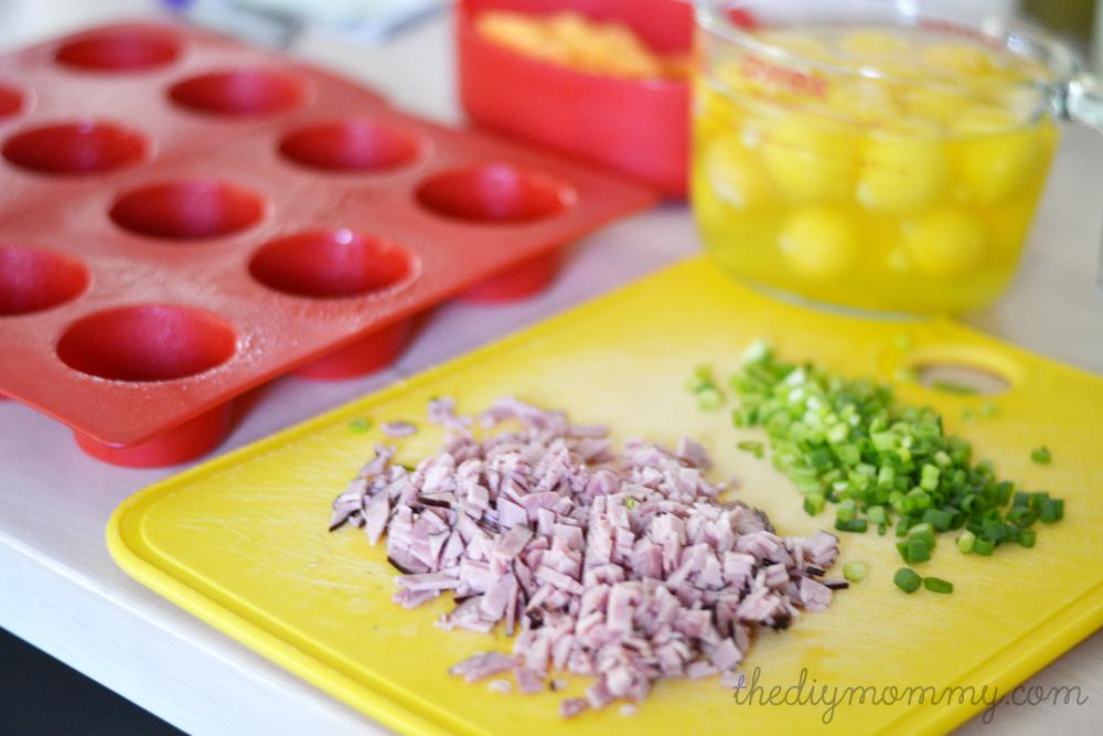 Bake Healthy Egg Breakfast Muffins