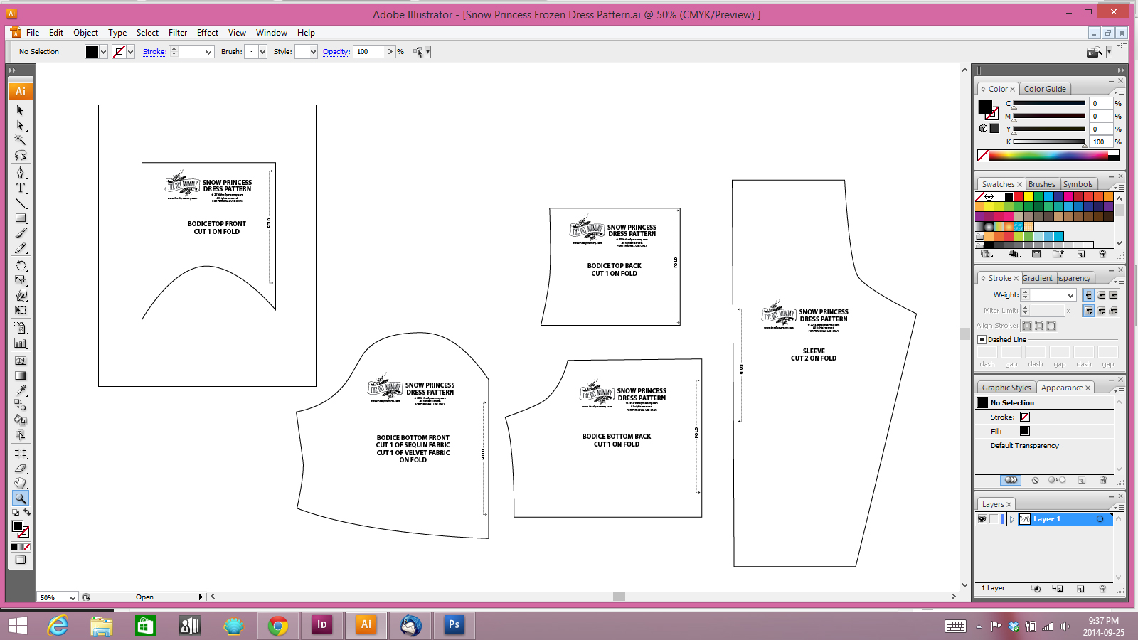 How I Draft Sewing Patterns (with My Intel AIO and Adobe Illustrator ...