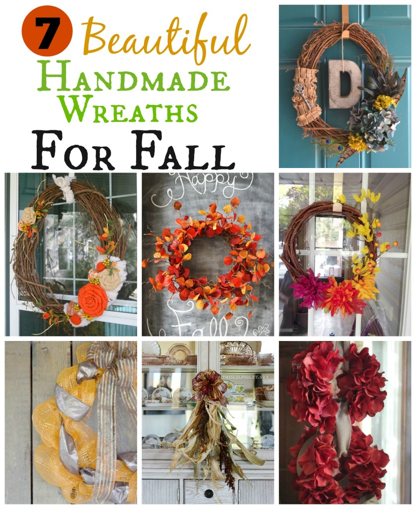 7 Beautiful Handmade Wreaths for Fall