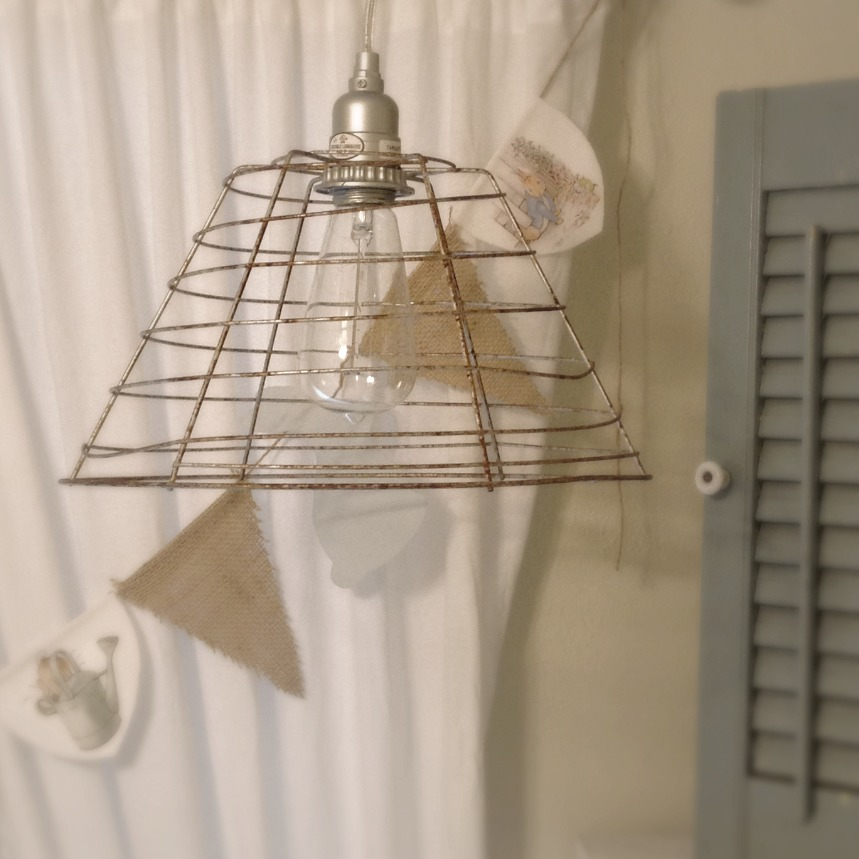 DIY Vintage Industrial Pendant Light