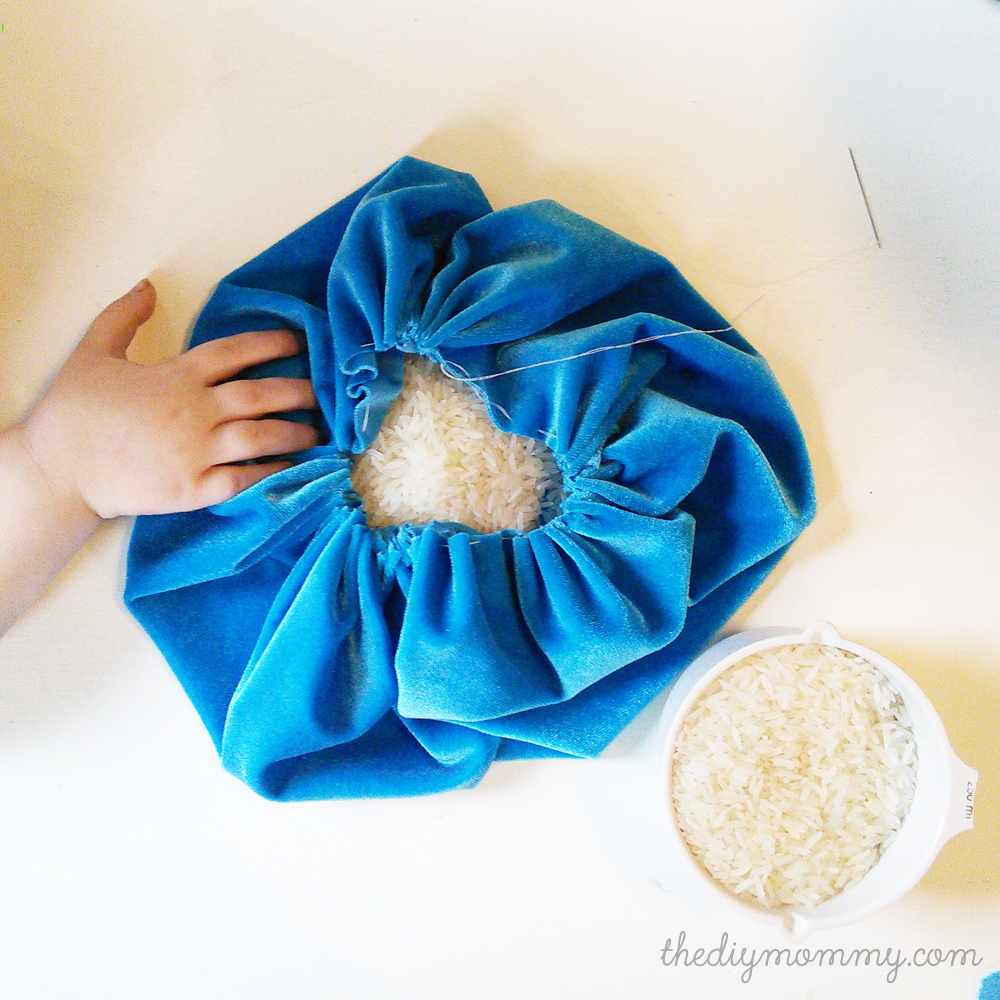 DIY Velvet Pumpkins Decorations