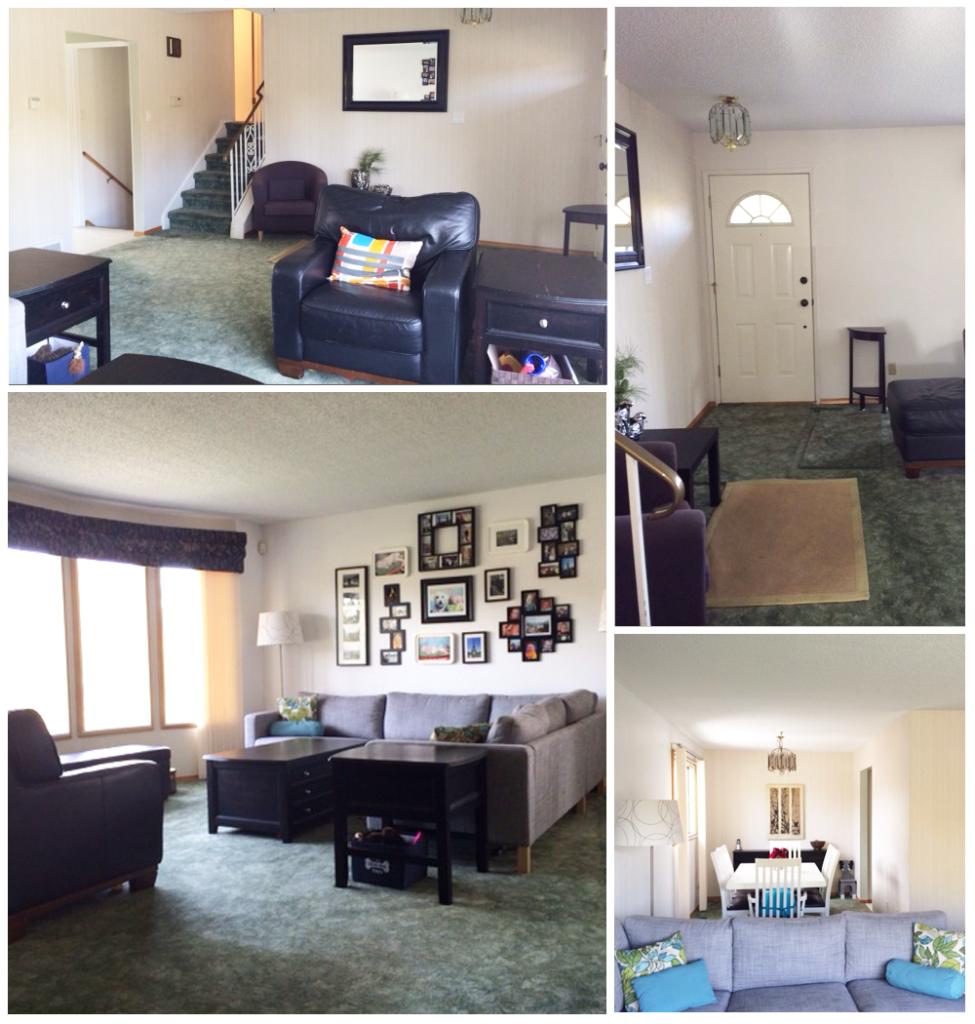 Reader Living Room: Before