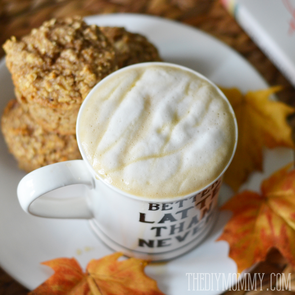 DIY Vanilla Maple Latte with all natural ingredients!
