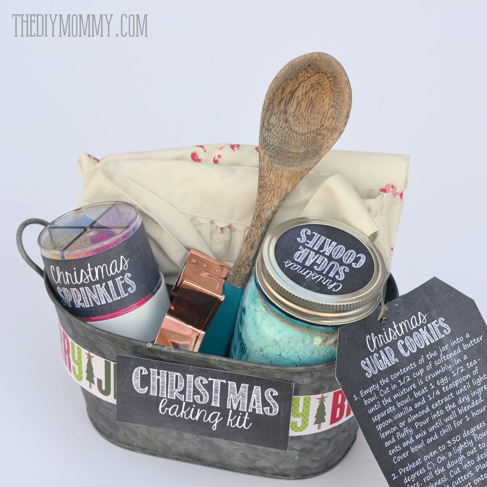 Great Diy Christmas Gift: A Gift In A Tin: Christmas Baking Kit