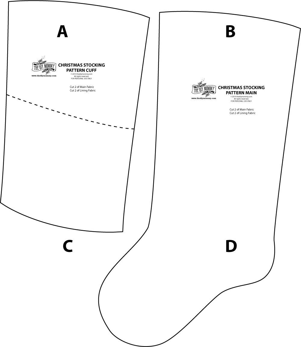Christmas Stocking Template.Sew Linen Burlap Christmas Stockings Anthropologie Inspired