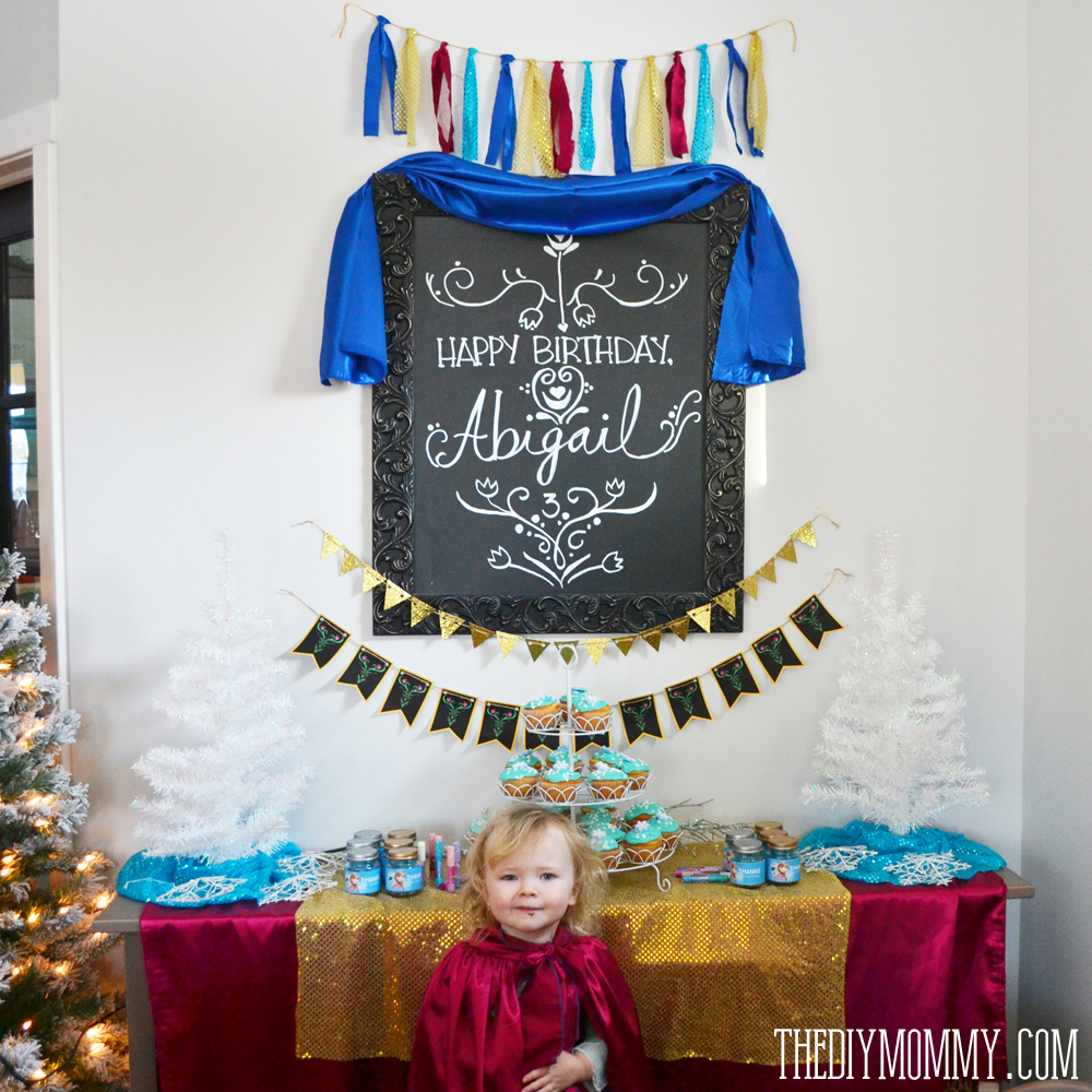 Inexpensive Frozen Anna DIY Birthday Party Ideas The