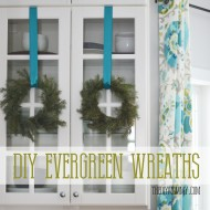 Make Real Evergreen Wreaths