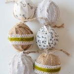 How to make ribbon and fabric wrapped Christmas ornaments. This is so easy and a great way to recycle old ornaments!