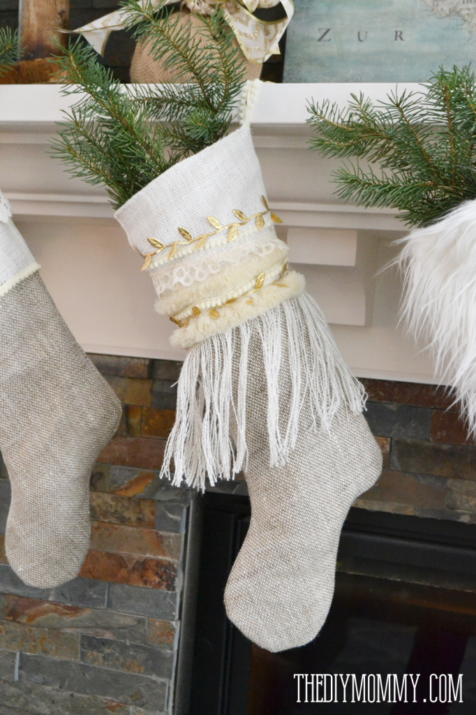 Free Burlap Christmas Stocking Patterns Stockings Free Pattern
