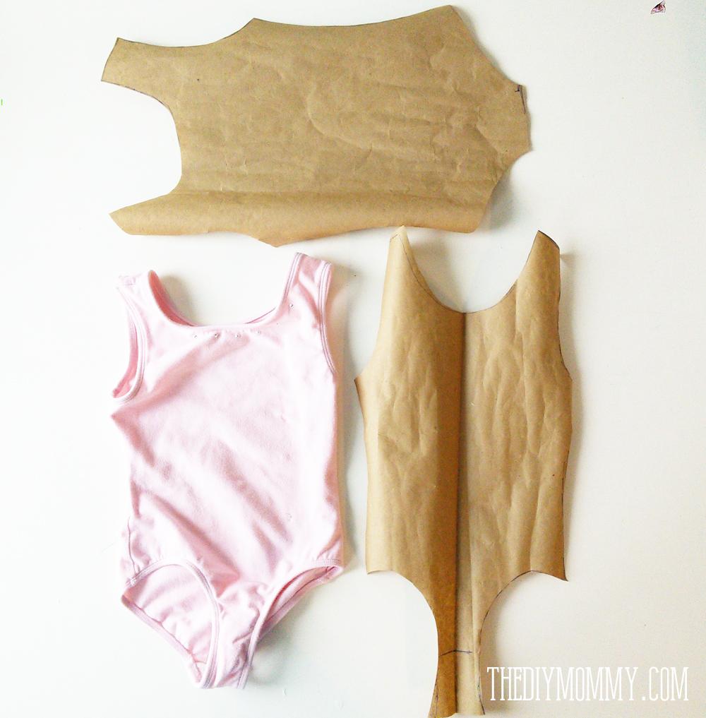 Easy DIY Frozen Inspired Dance Costume (Bodysuit + Tutu)